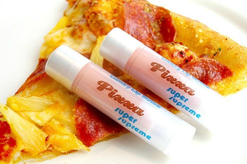 Dieser Pizza-Lippenbalsam macht ohne Kalorien glücklich