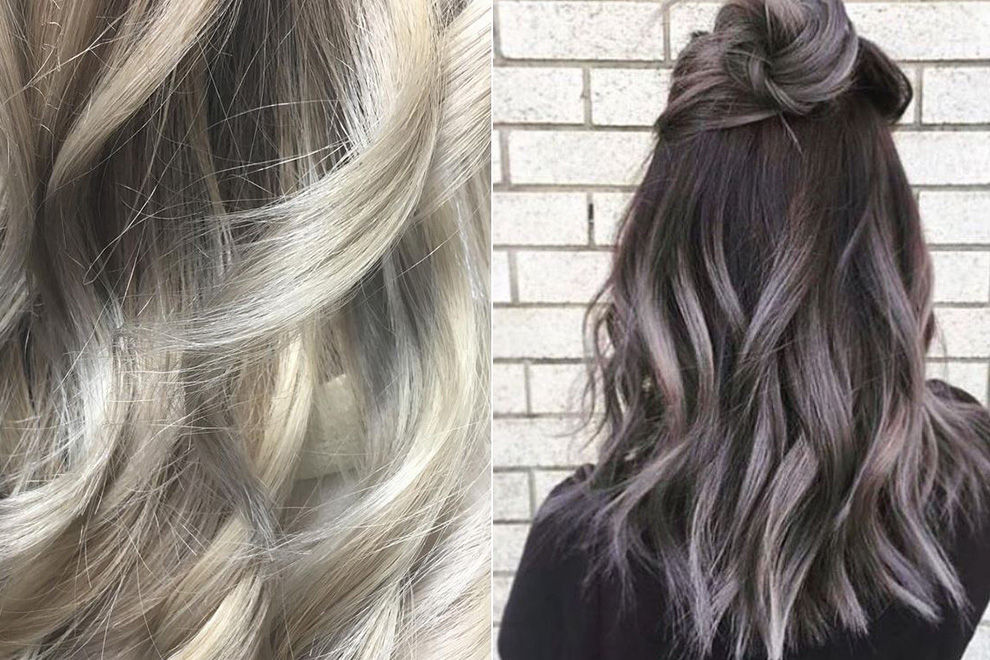 Grey Ombré-Hair is there