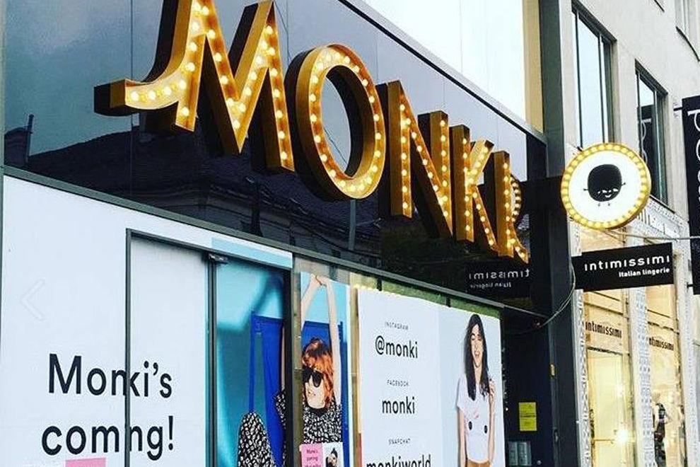 Monki eröffnet heute den ersten Store in Österreich