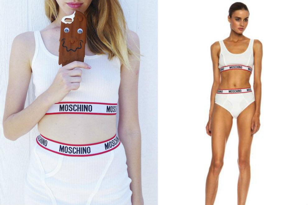 Moschino zeigt kultige Unterwäsche