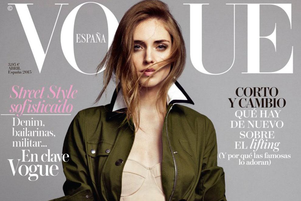 Chiara Ferragni als erste Bloggerin am Cover der Vogue