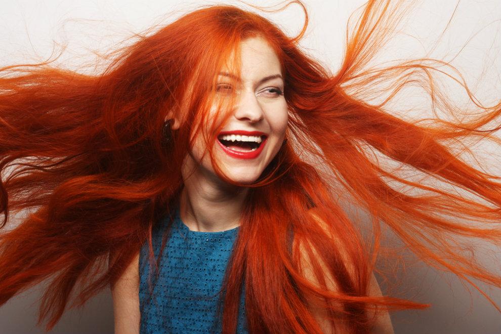 Haaren welche farbe passt zu roten Welche Farben
