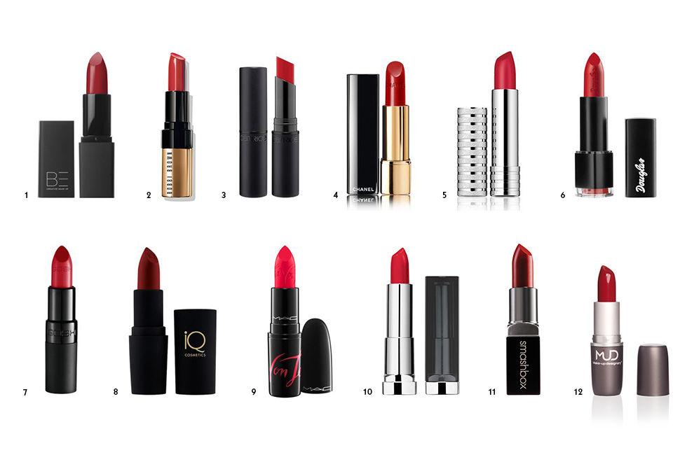 Die besten roten Lippenstifte
