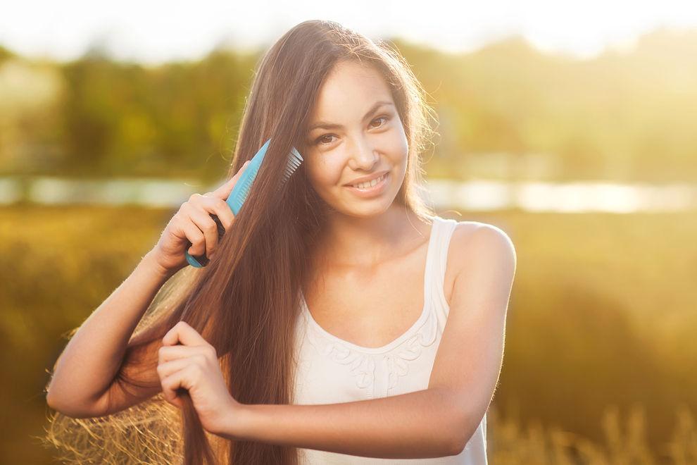 5 simple Hausmittel gegen fettige Haare