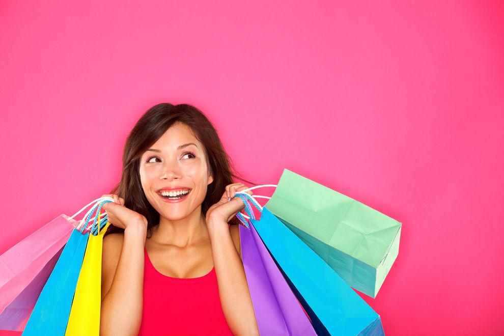 Shoppen macht tatsächlich glücklich