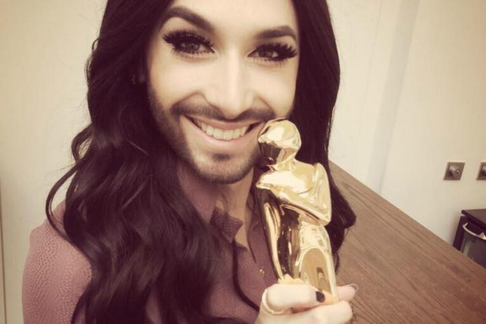 """Conchita Wurst für """"TV-Moment des Jahres"""" geehrt"""