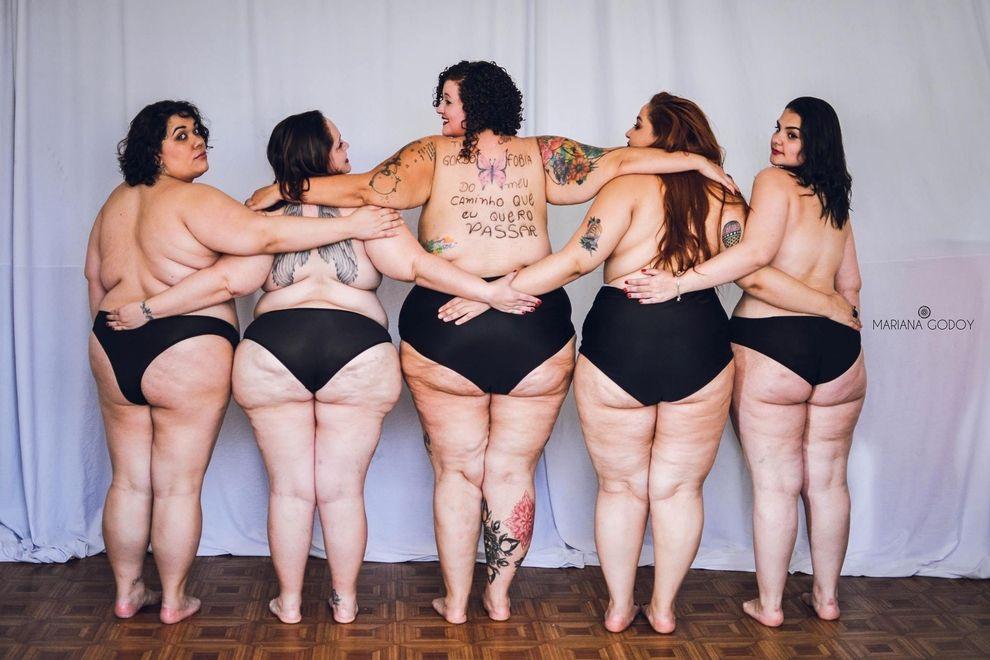 Mariana Godoy fotografiert füllige Frauen für Fotoprojekt