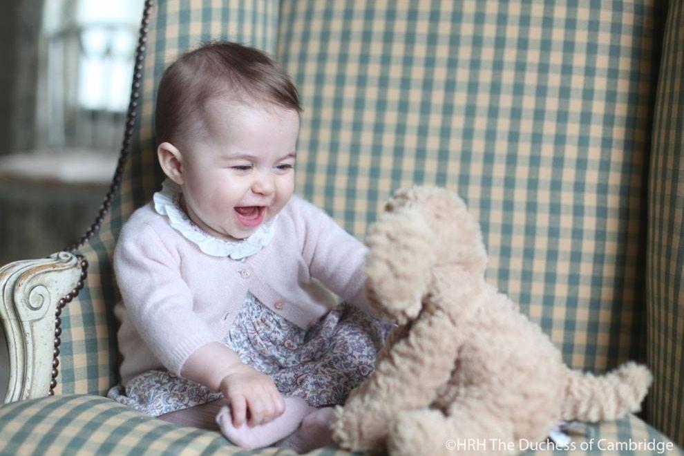 So süß ist Prinzessin Charlotte
