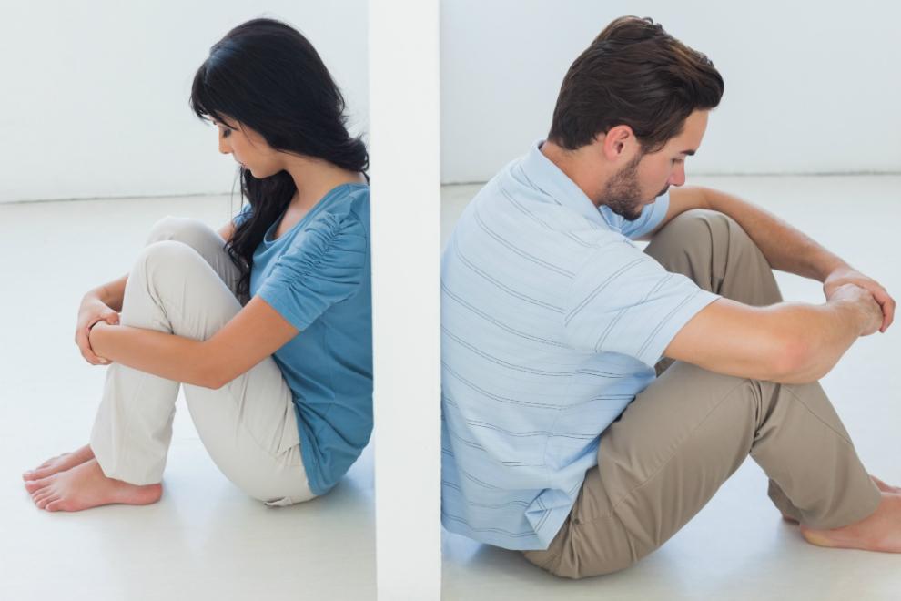 5 Anzeichen, die auf eine Trennung hindeuten
