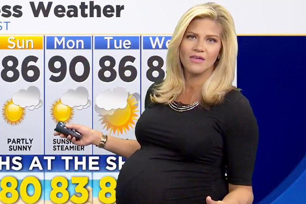 """Schwangere US-Moderatorin wurde im Netz als """"ekelhaft"""" bezeichnet"""