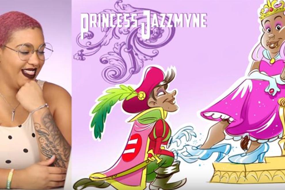 Wenn Frauen als Disney-Prinzessinnen in Szene gesetzt werden