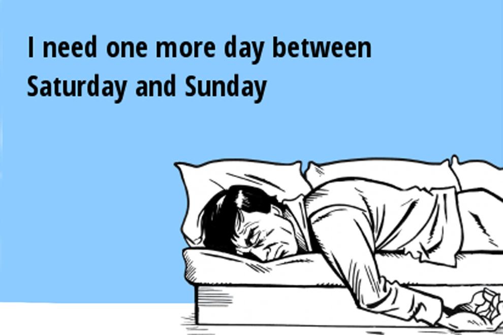 Warum das Wochenende 3 Tage braucht!