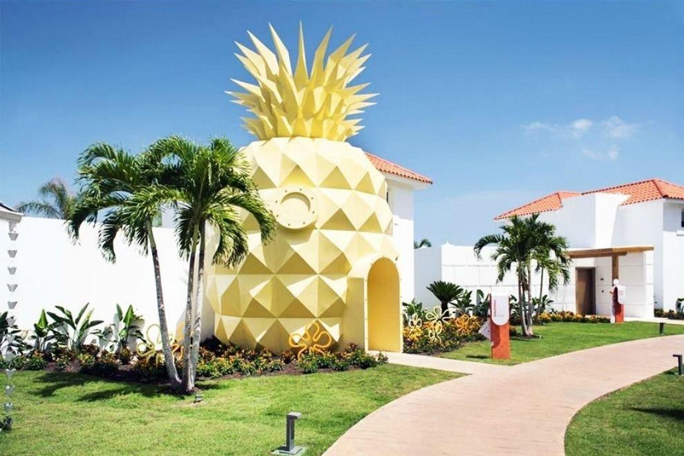Endlich kann man in SpongeBobs Ananas schlafen