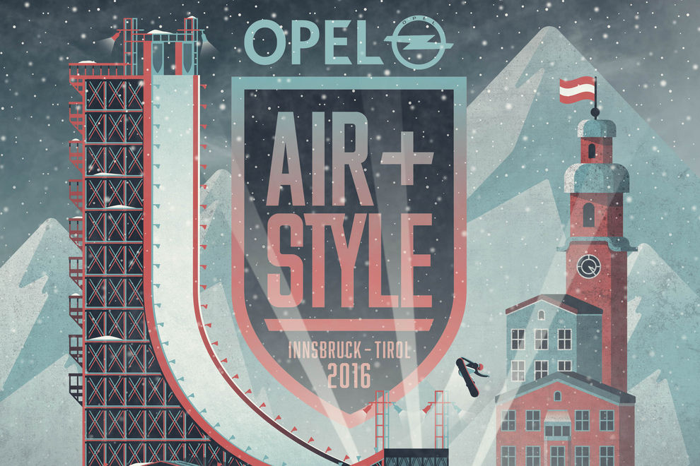 Air&Style in Innsbruck mit Mega-Lineup