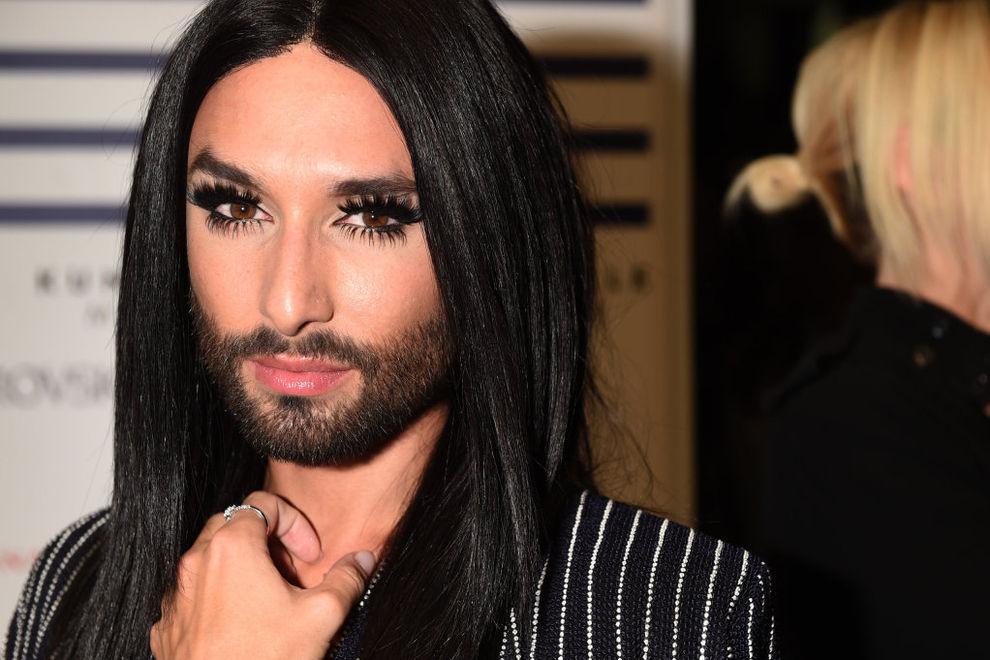 Conchita Wurst wirbt für Homo-Ehe in Italien