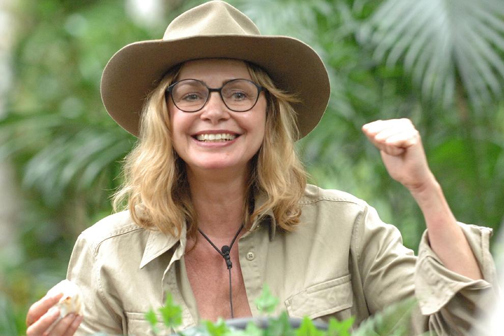 Maren Gilzer ist Dschungel-königin!