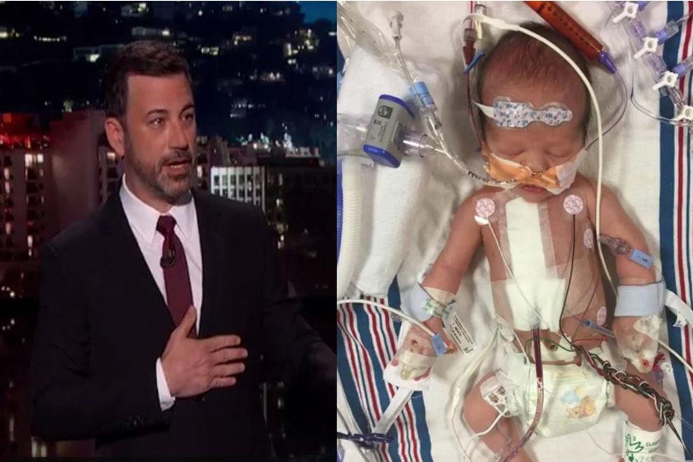 Jimmy Kimmels neugeborener Sohn hat seltene Herz-Krankheit