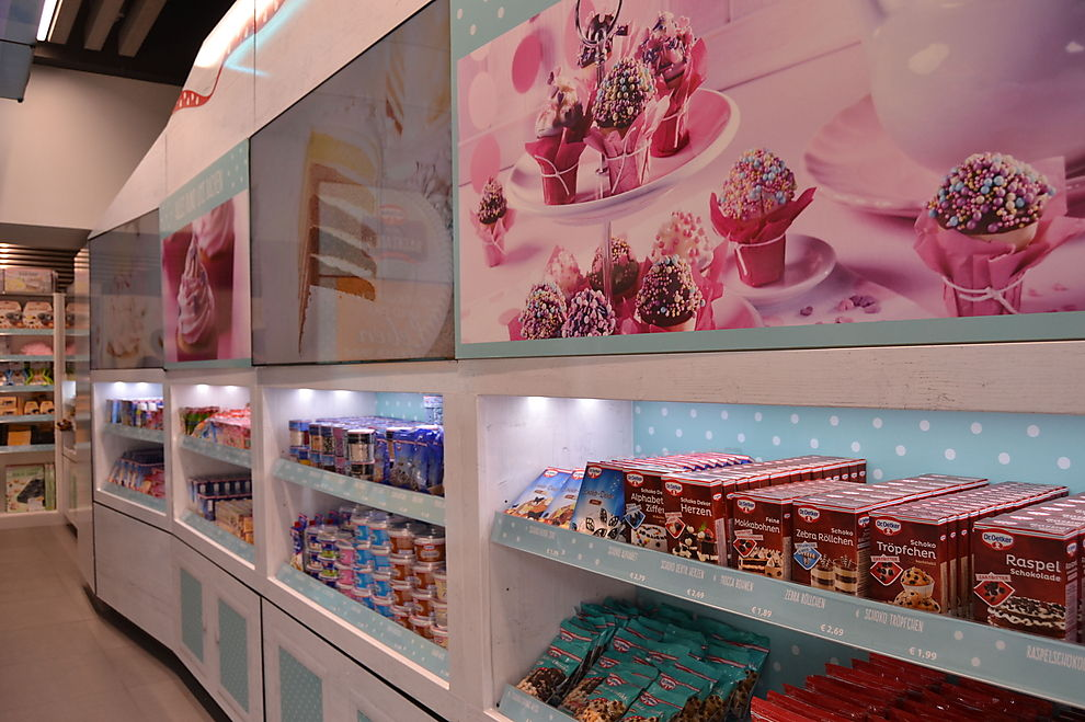 Dr. Oetker eröffnet Pop-Up-Store auf der Mariahilfer Straße