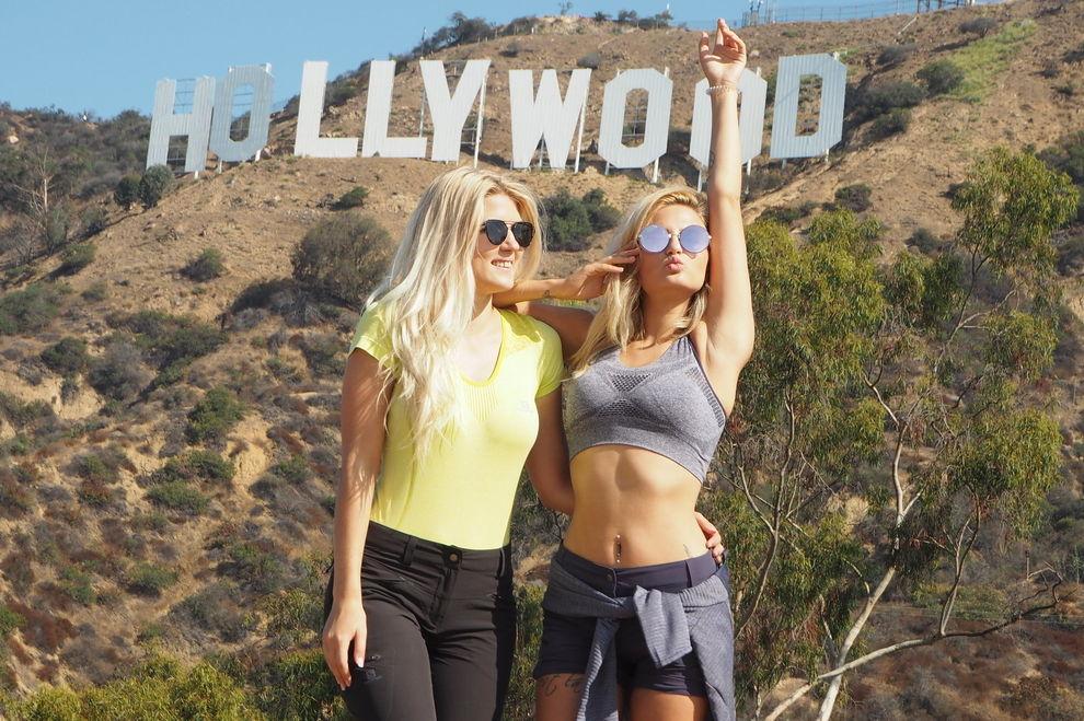 Der beschwerliche Aufstieg zum Hollywood Sign