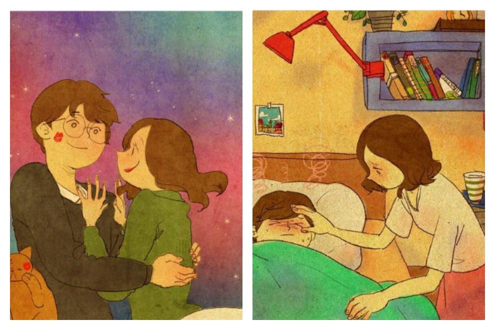 So sieht Liebe im Alltag aus