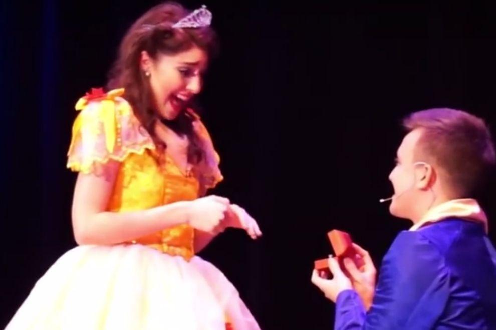 Dieser Disney-Heiratsantrag wird euer Make-Up ruinieren