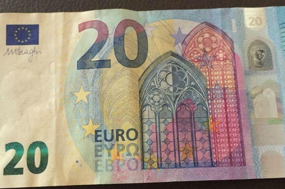 Wenn ein 20-Euro-Schein dieses Merkmal aufweist, ist er 400 Euro wert