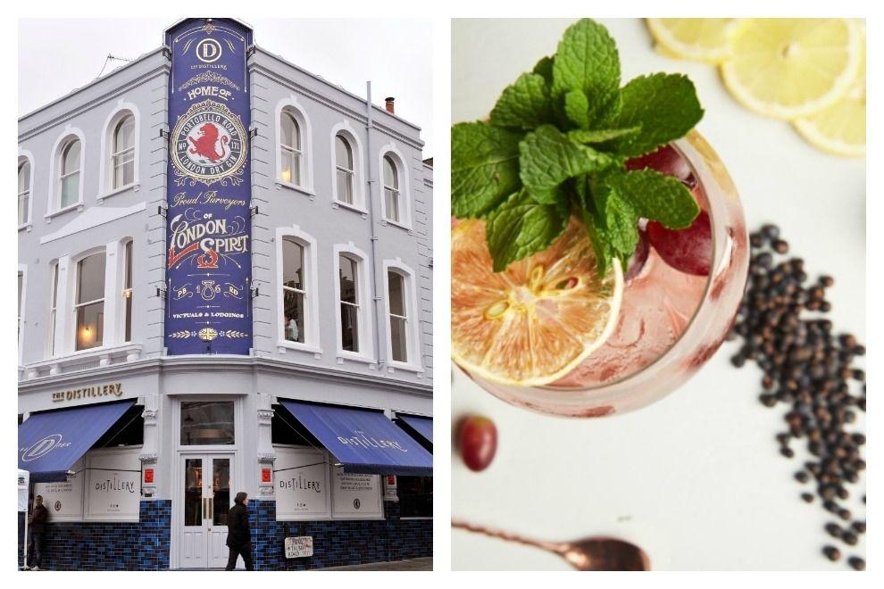 In London hat ein Gin-Hotel eröffnet