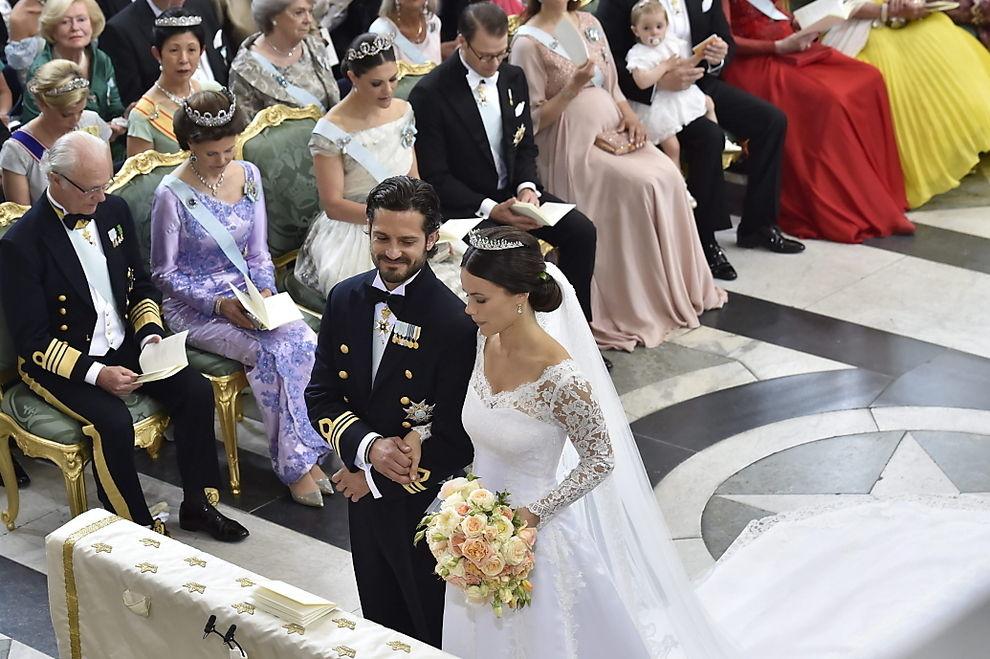 So schön sah Sofia Hellqvist bei der Hochzeit aus