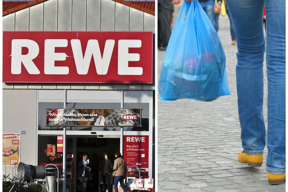 REWE verkauft ab jetzt keine Plastiktüten mehr