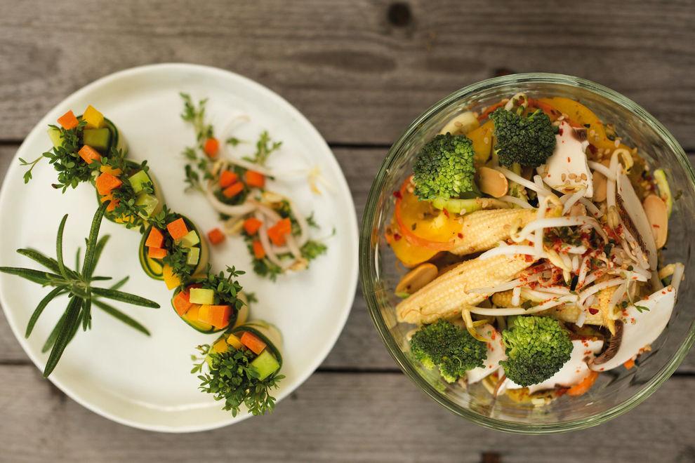 Michaela Russmann zeigt, was Raw Food so alles kann