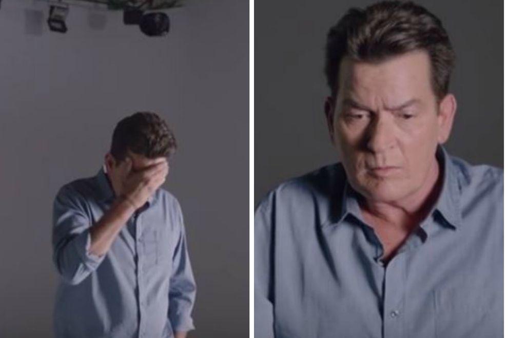 Charlie Sheen wirbt jetzt für Kondome und das Video ist unendlich traurig