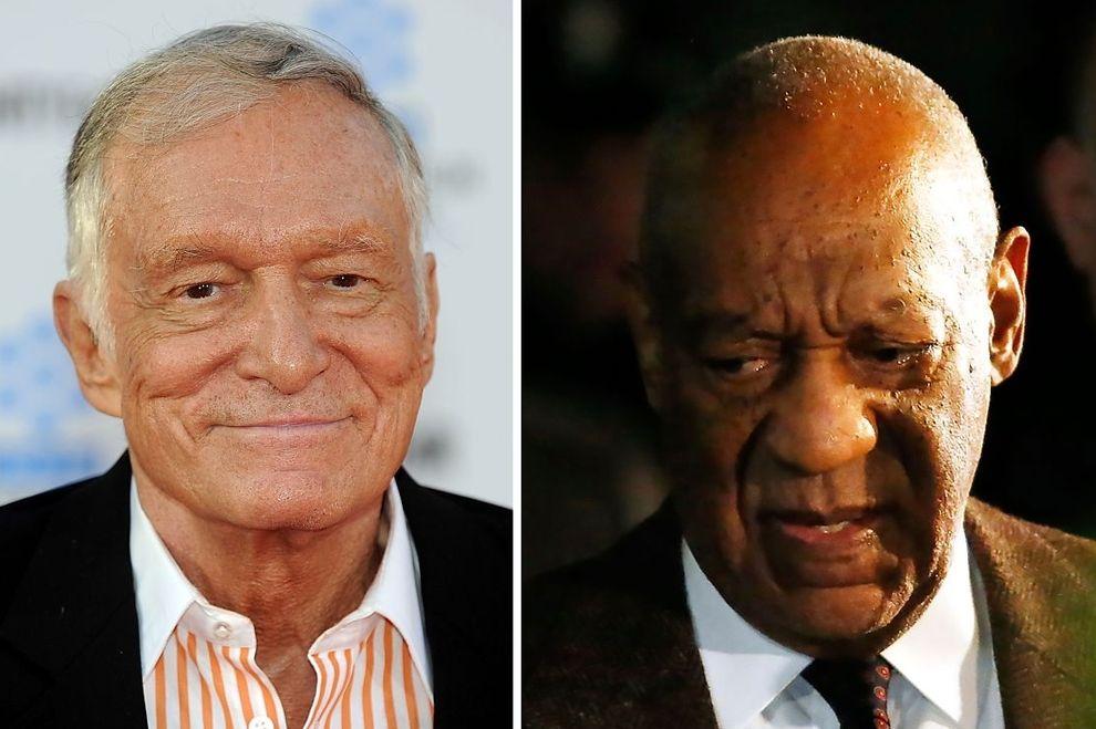 Model klagt gegen Cosby und Hefner