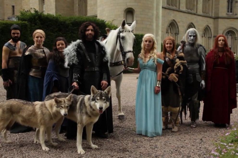 Heiraten wie in Game of Thrones
