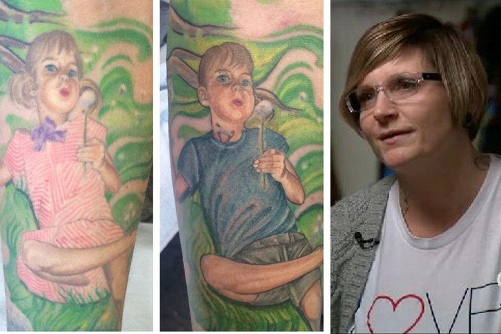 """Mutter lässt Tattoo ihres Transgender-Sohnes """"updaten"""""""