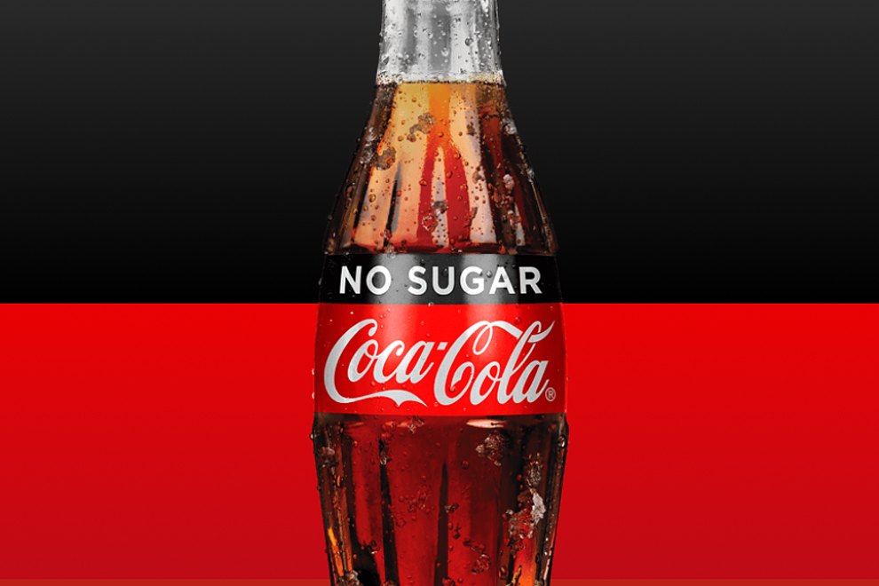 "Statt Coke ZERO kommt ""NO SUGAR Coca-Cola"""
