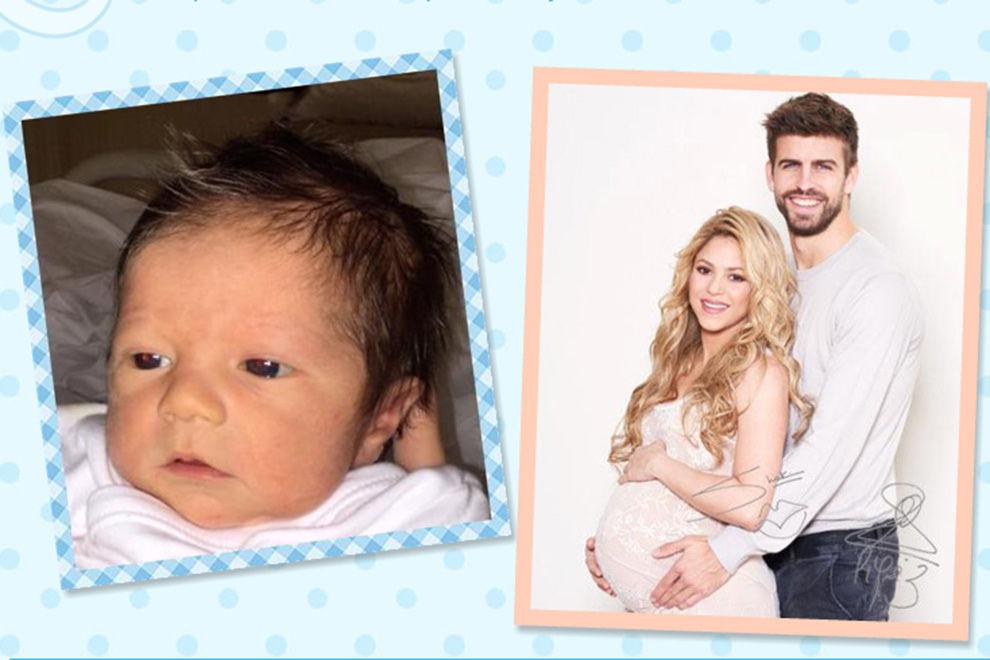Shakira zeigt erstes Babyfoto