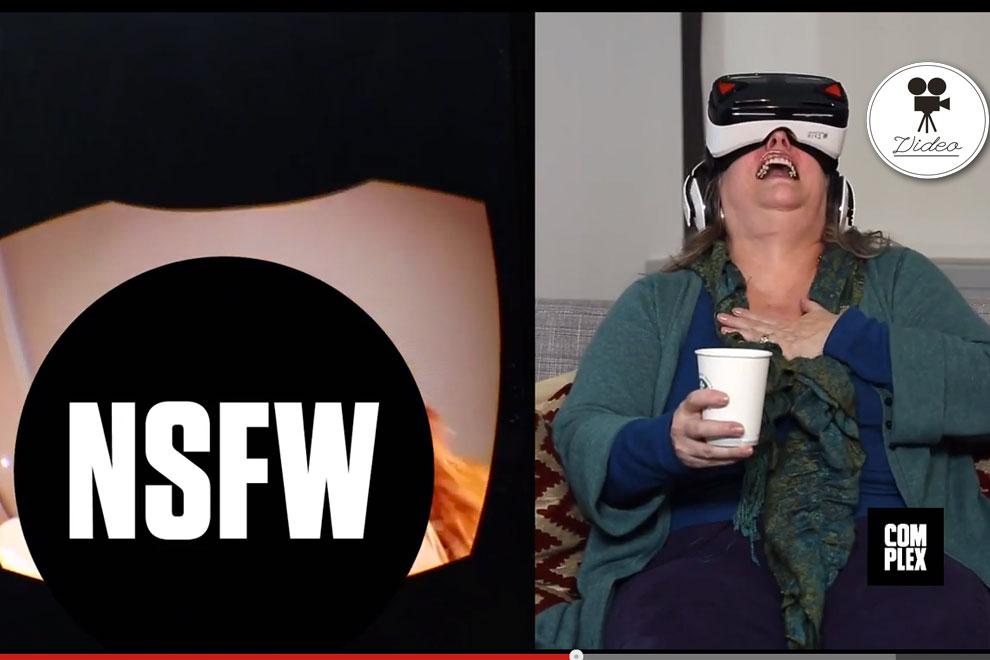 So reagieren Senioren auf Pornos