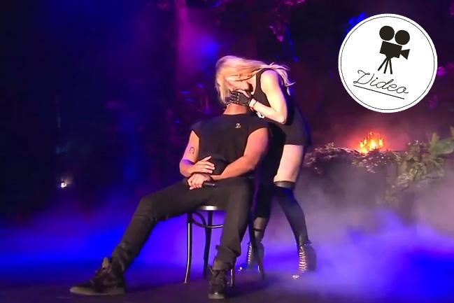 """Madonna """"beglückt"""" Drake mit Zungenkuss"""