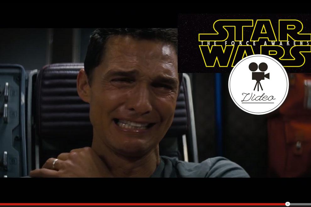 Matthew Mcconaughey reagiert auf Star Wars Trailer