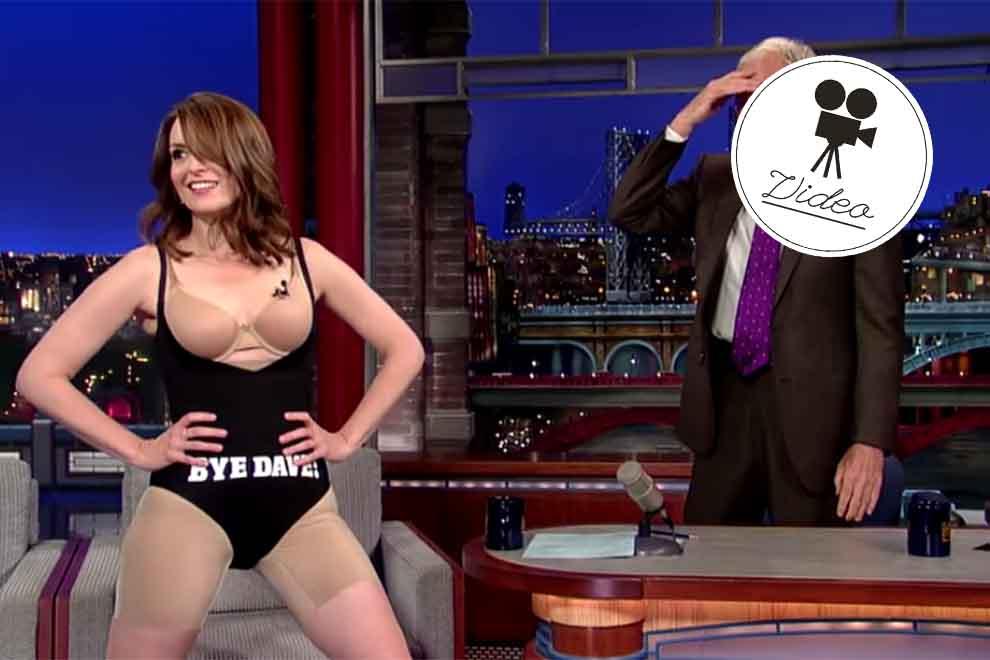 Tina Fey legt Goodbye-Striptease hin