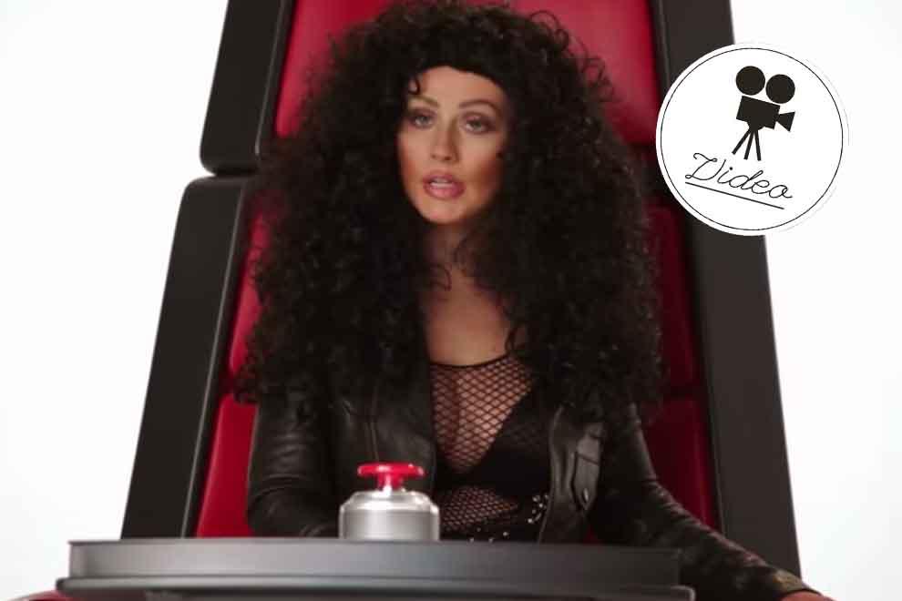 Christina Aguilera imitiert Britney Spears, Cher und Co.!