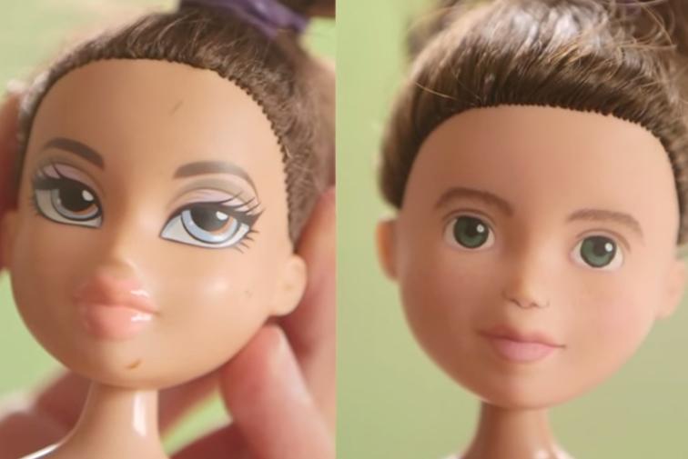 So sieht Barbie ohne Make-up aus
