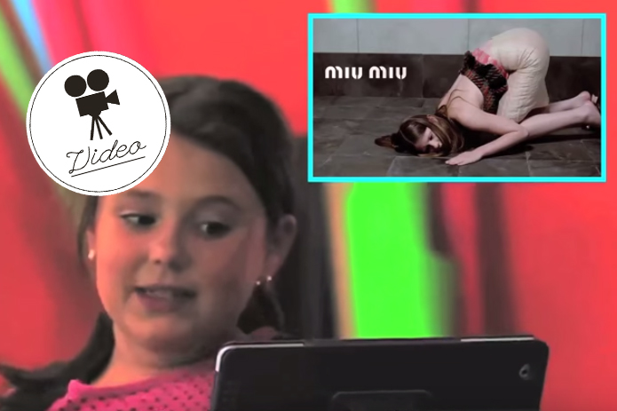 So reagieren Kids auf Modelbilder