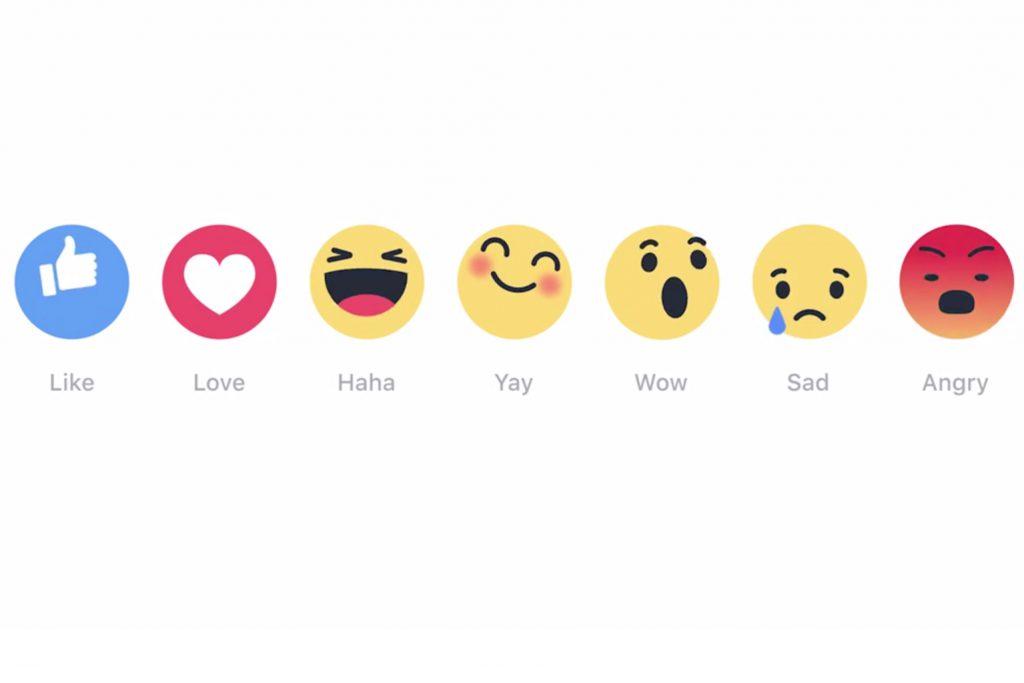 Facebook führt 6 Alternativen zum Like-Button ein