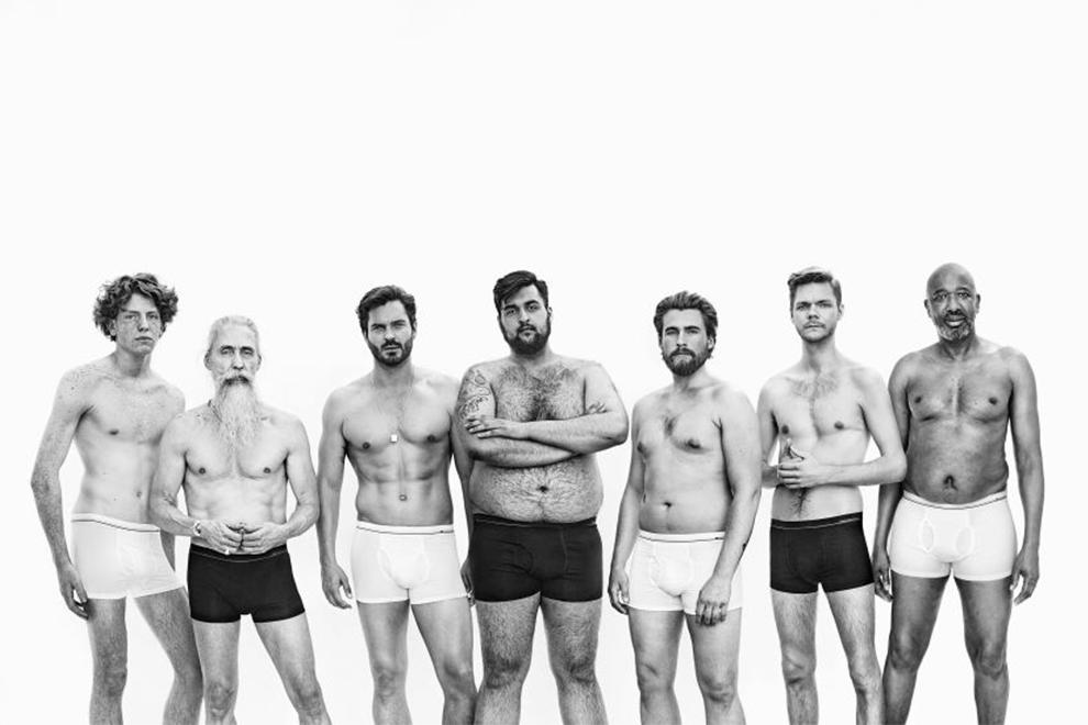 Werbung zeigt, wie echte Männer aussehen