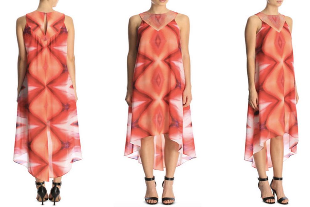 Frau kauft verstörendes Vagina-Kleid