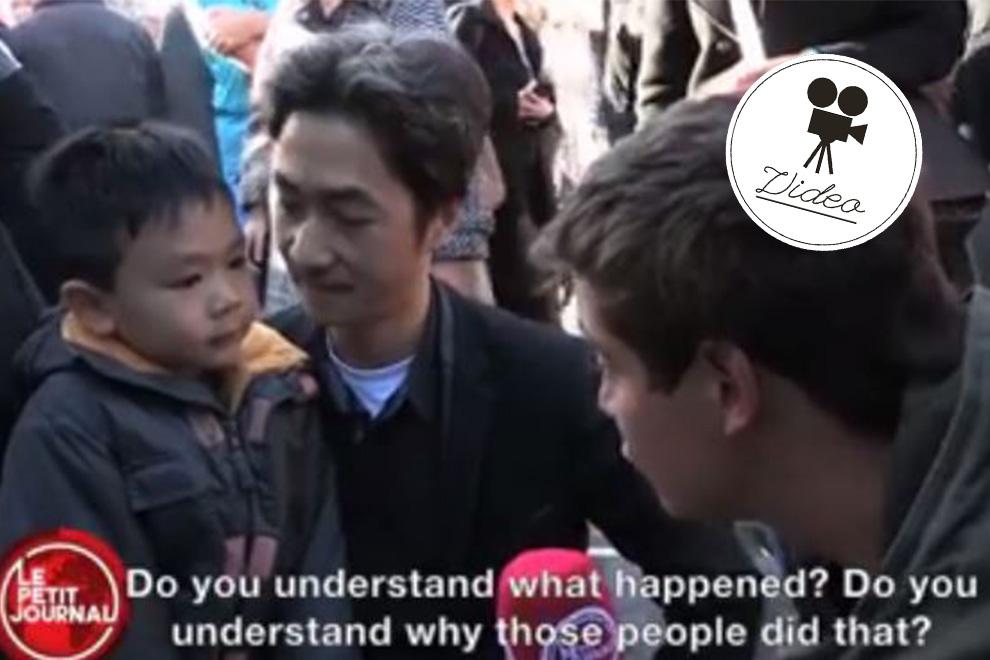 Das denkt dieser kleine Junge über den Terror in Paris