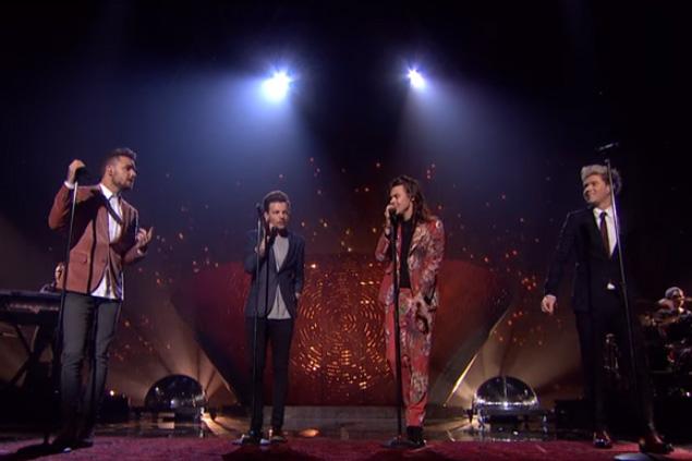 So schön war der letzte Auftritt von One Direction