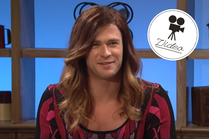 So sieht Chris Hemsworth als Frau aus