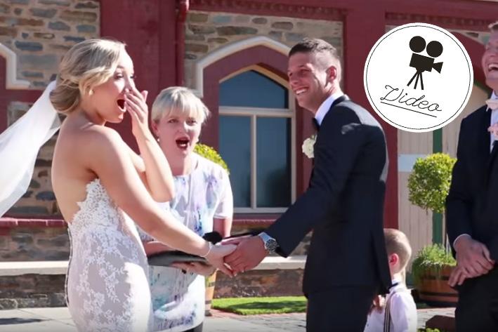Darum störte ein 3-Jähriger die Hochzeit seiner Eltern